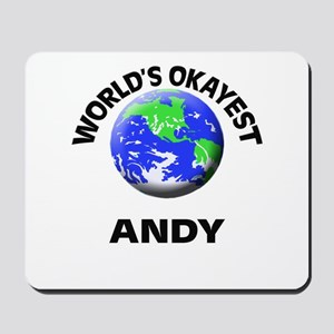 World's Okayest Andy Mousepad