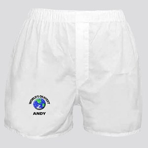 World's Okayest Andy Boxer Shorts