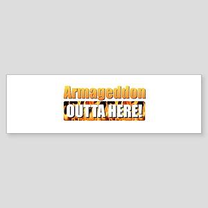 Armageddon Bumper Sticker