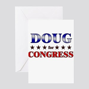 DOUG for congress Greeting Card