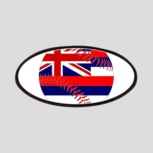 Hawaii Flag Baseball Patch