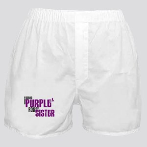 I Wear Purple For My Sister 6 (PC) Boxer Shorts
