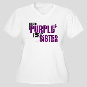 I Wear Purple For My Sister 6 (PC) Women's Plus Si