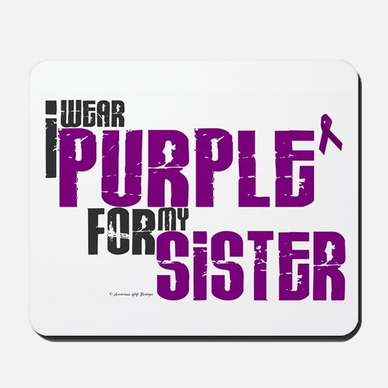 I Wear Purple For My Sister 6 (PC) Mousepad