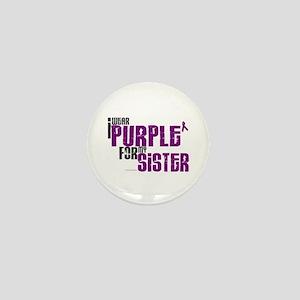 I Wear Purple For My Sister 6 (PC) Mini Button