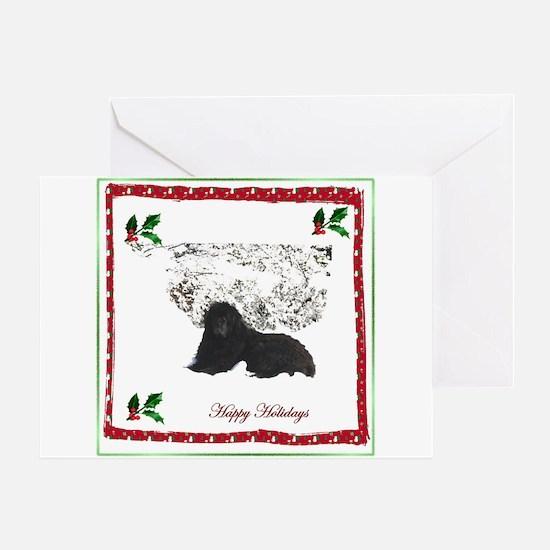 Happy Holidays Ursa Greeting Card