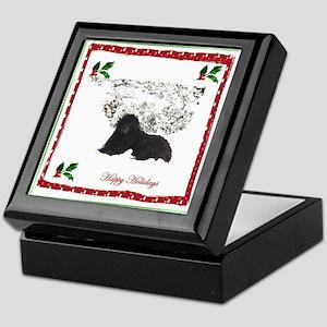 Happy Holidays Ursa Keepsake Box