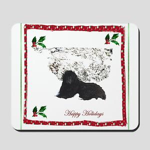 Happy Holidays Ursa Mousepad