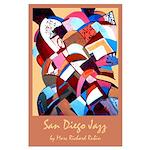 Large Poster<br>San Diego Jazz