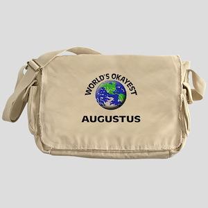 World's Okayest Augustus Messenger Bag