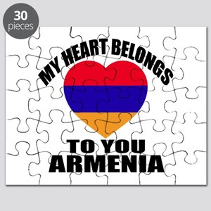 My Heart Belongs To You Armenia Country Des Puzzle