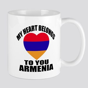 My Heart Belongs To You Armenia 11 oz Ceramic Mug