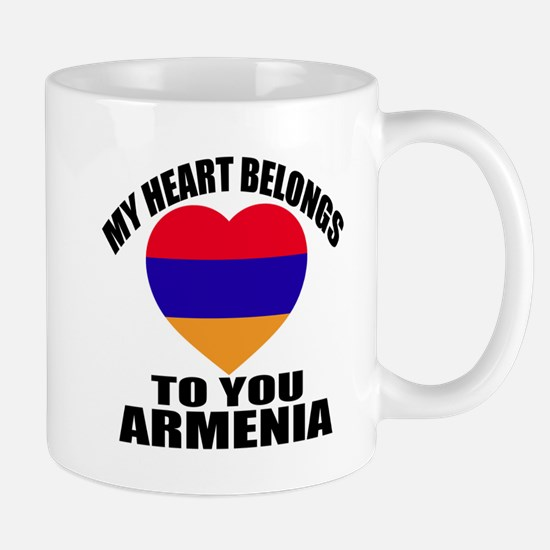 My Heart Belongs To You Armenia Mug