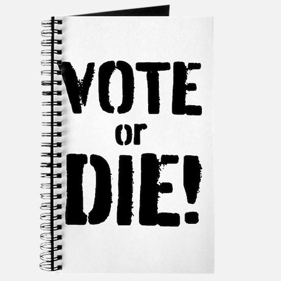 Vote or Die! Journal
