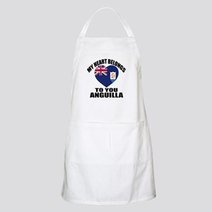My Heart Belongs To You Anguilla Count Light Apron