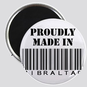 Proudly made in Gibraltar Magnet