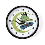 KID FIN Wall Clock