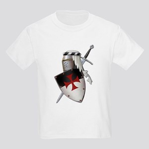 Knights Templar Kids Light T-Shirt