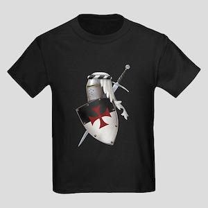 Knights Templar Kids Dark T-Shirt