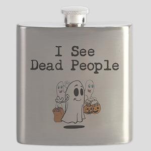I See Dead People 1 Flask