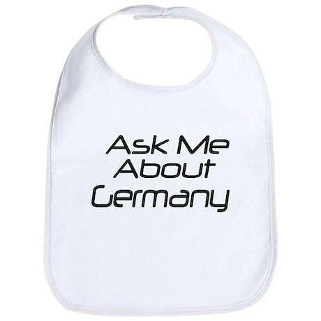 Ask me about Germany Bib