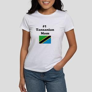#1 Tanzanian Mom Women's T-Shirt