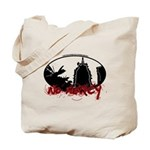 Tower of Babylon outline No mercy Tote Bag