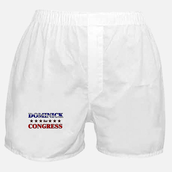 DOMINICK for congress Boxer Shorts