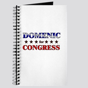 DOMENIC for congress Journal