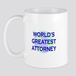 World's Greatest Attorney Mug