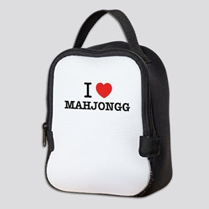 I Love MAHJONGG Neoprene Lunch Bag