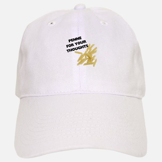 Penne For Your Thoughts Baseball Baseball Cap