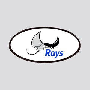 Rays Mascot Patch