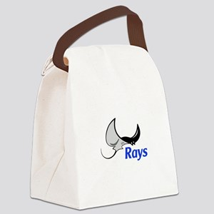 Rays Mascot Canvas Lunch Bag