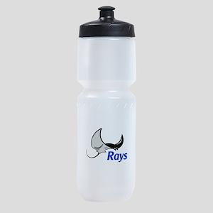 Rays Mascot Sports Bottle