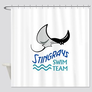 Swim Team Shower Curtain