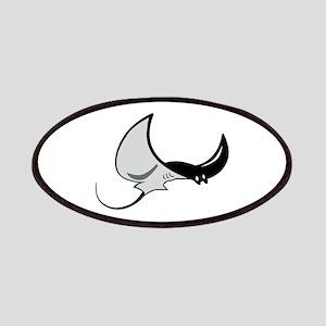 Stingray Mascot Patch