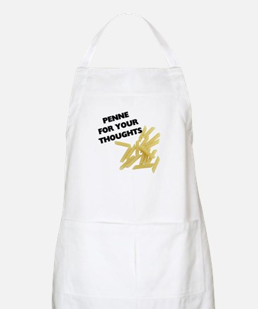 Penne For Your Thoughts Light Apron
