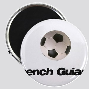 French Guiana Soccer Magnet