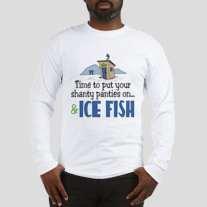 Shanty Panties Ice Fish Long Sleeve T-Shirt
