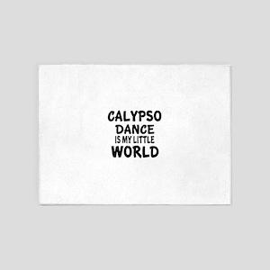Calypso Is My Little World 5'x7'Area Rug