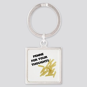 Penne For Your Thoughts Keychains
