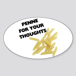 Penne For Your Thoughts Sticker