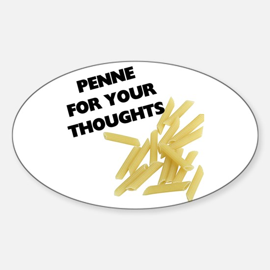 Penne For Your Thoughts Decal