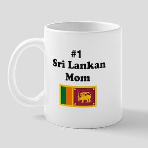 #1 Sri Lankan Mom Mug