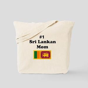 #1 Sri Lankan Mom Tote Bag