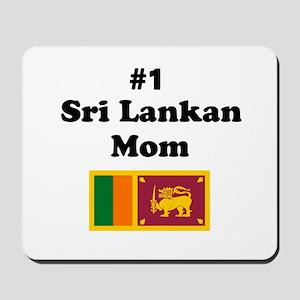 #1 Sri Lankan Mom Mousepad
