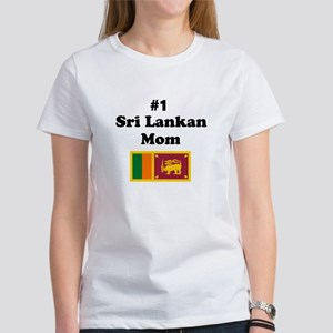 #1 Sri Lankan Mom Women's T-Shirt