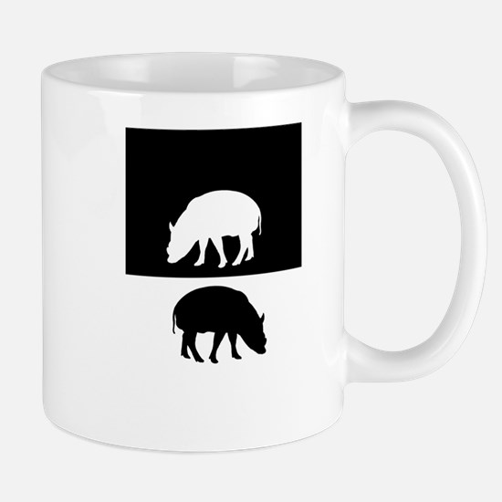 Babirusa Mugs
