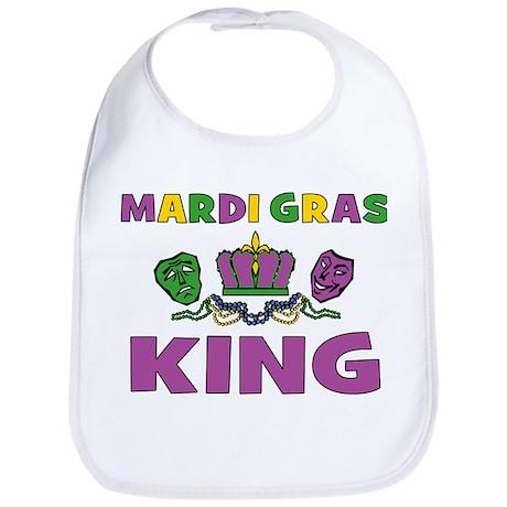 Mardi Gras King Bib